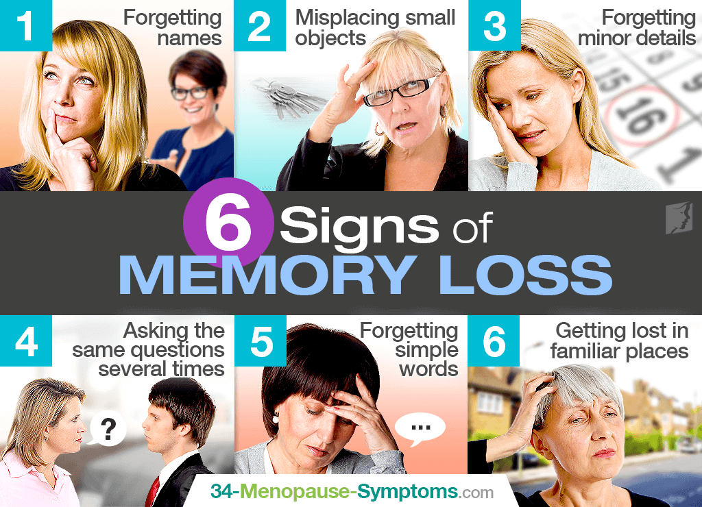 6 Signs of Memory Loss