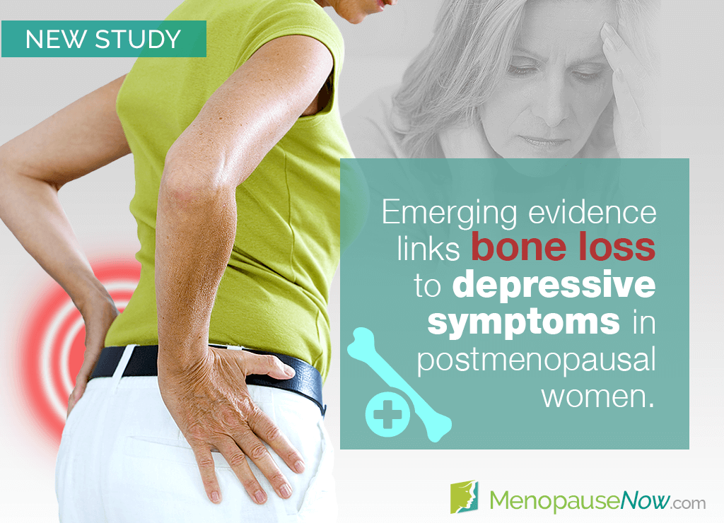 Study: Depressed postmenopausal women more prone bone loss