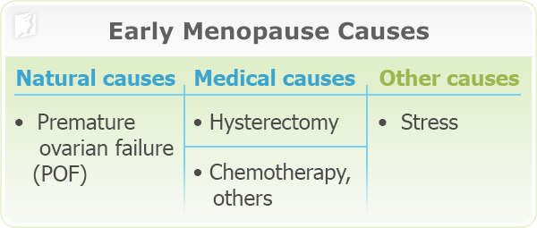 Early Menopause Causes 2