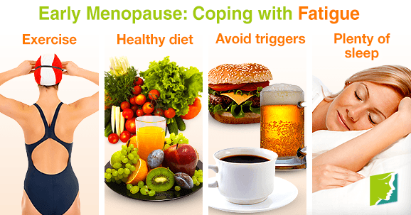 Early menopause: coping with fatigue