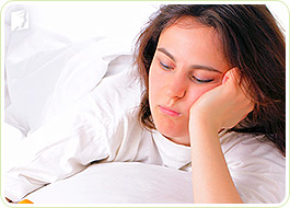 Insomnia is one of the most common symptoms of early menopause