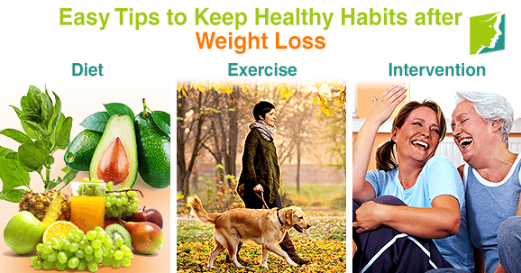 Easy Tips to Keep Healthy Habits after Weight Loss