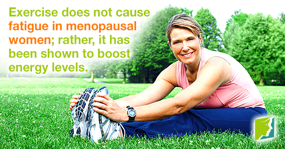 Exercise and menopausal fatigue