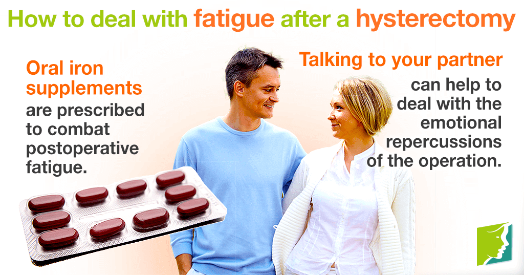 How to deal with fatigue after a hysterectomy