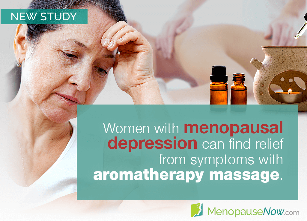 Study: Menopause depression may be relieved by aromatherapy massage