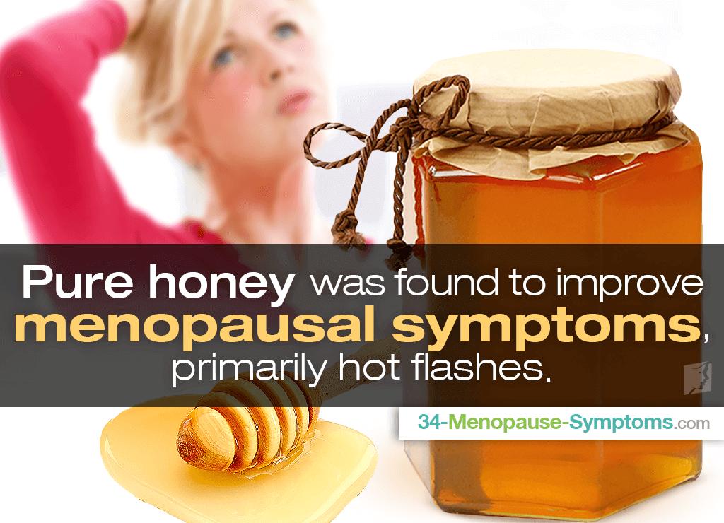 honey for menopause symptoms