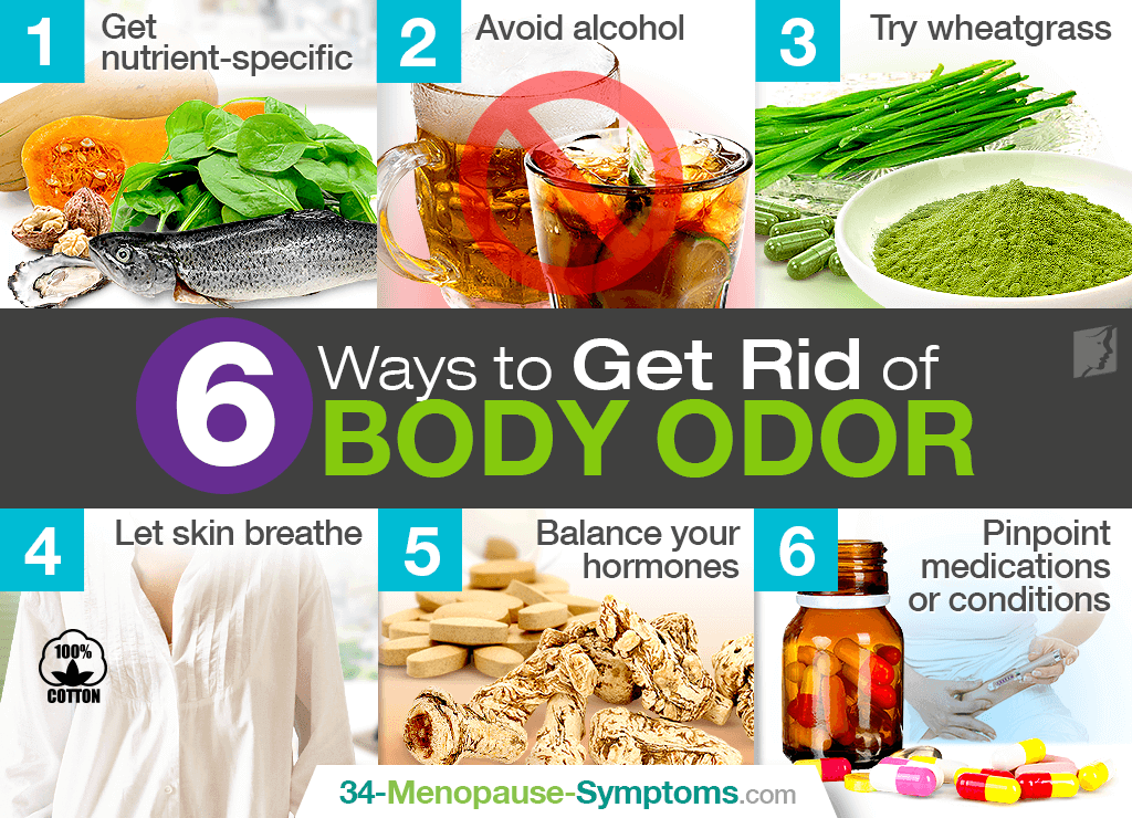 6 Ways to Get Rid of Body Odor | Menopause Now