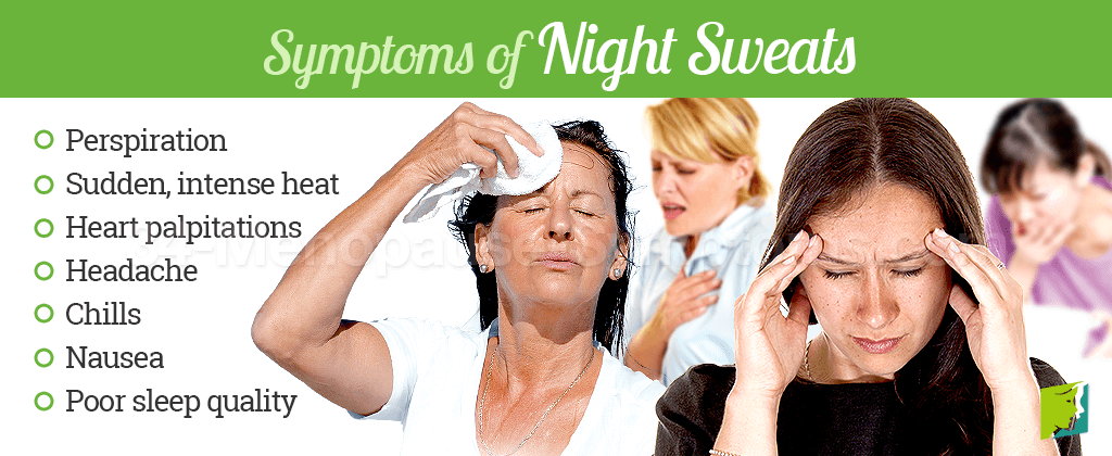 Symptoms of Night Sweats