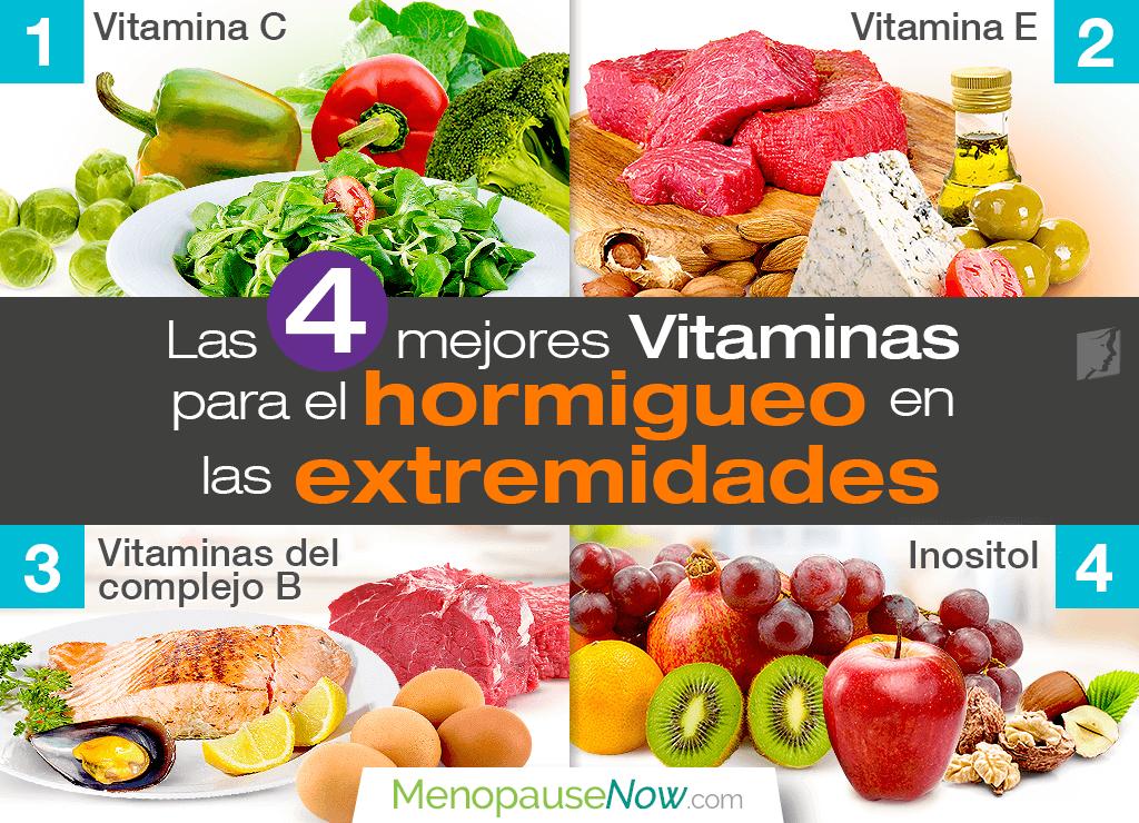 Las 4 mejores vitaminas para el hormigueo en las extremidades