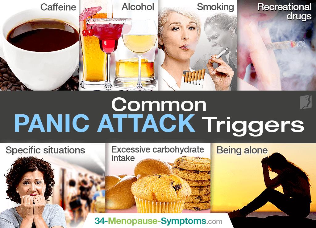 Panic attack triggers