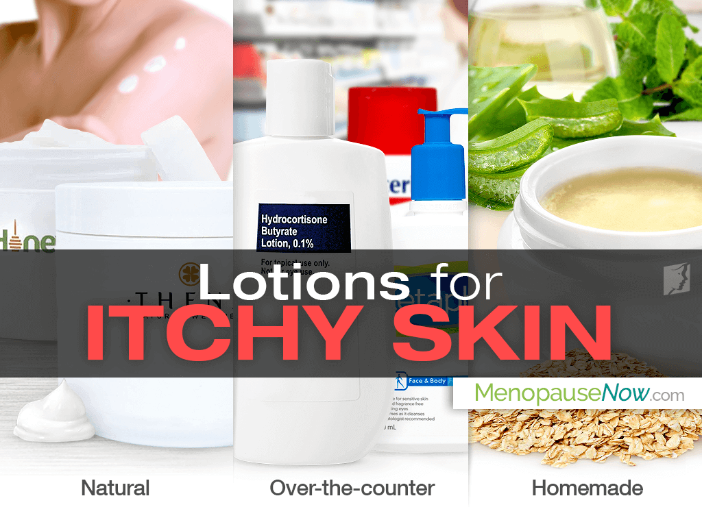 Lotion for itchy skin