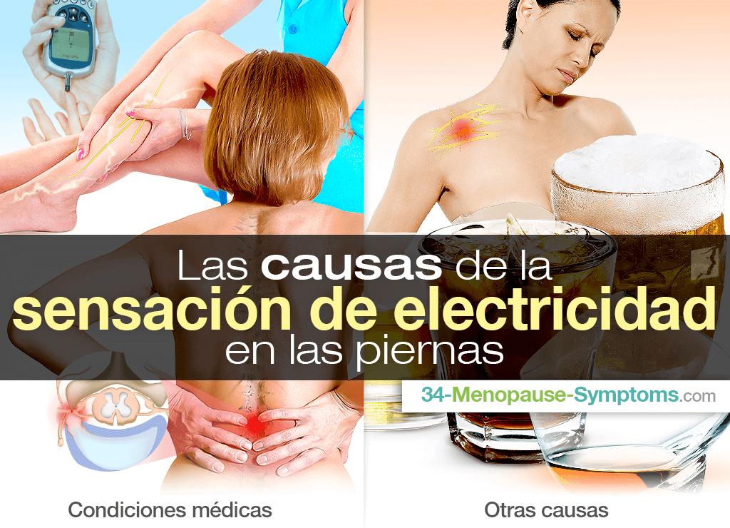 Sensación de electricidad en las piernas: causas y soluciones