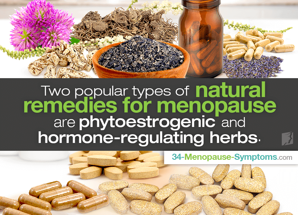 Relieve menopause symptoms naturally