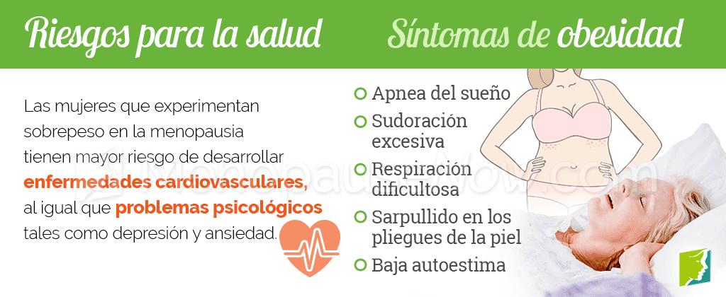 Síntomas de sobrepeso