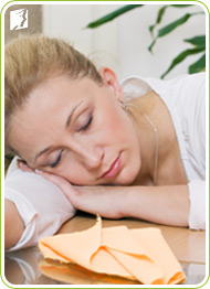 Fatigue is a persistent feeling of weakness, tiredness, and lowered energy level