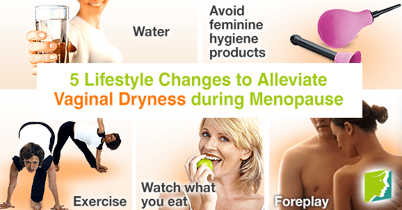 5 Lifestyle Changes to Alleviate Vaginal Dryness during Menopause