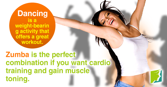 Zumba is a great way to build muscles