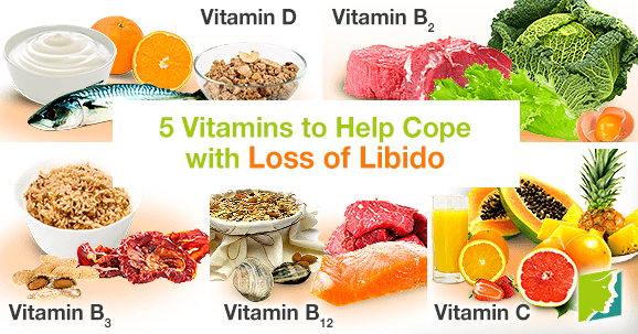 5 vitamins and minerals for female loss of libido
