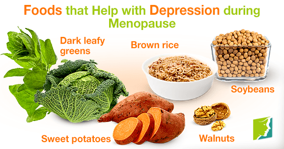 Foods that Help with Depression during Menopause