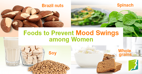 Foods to Prevent Mood Swings among Women