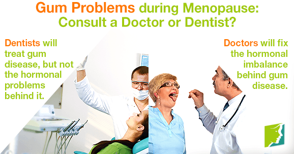 Gum Problems during Menopause: Consult a Doctor or Dentist?