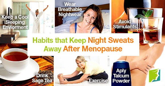 Habits That Keep Night Sweats Away After Menopause