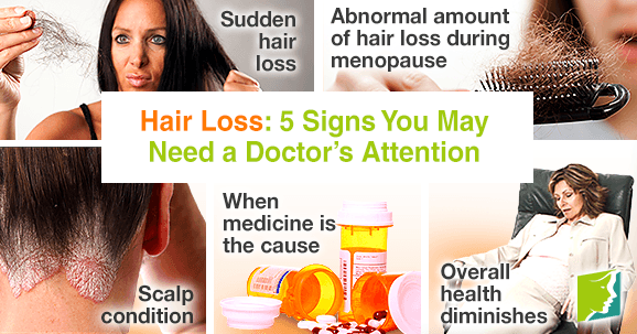 Hair Loss: 5 Signs You May Need a Doctor's Attention