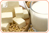 Soy: contains phytoestrogens and helps to regulate estrogen naturally