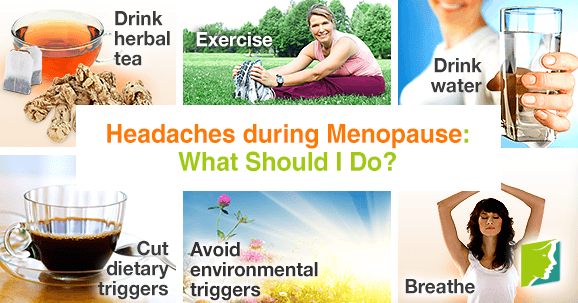 Headaches during menopause: what should I do?