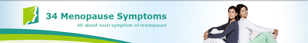 34 Menopause Symptoms. All About each symptom of menopause