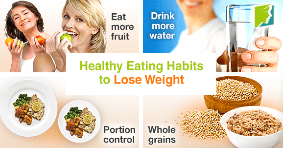 healthy food habits to lose weight
