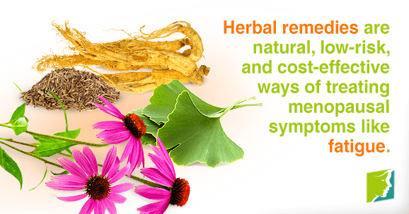 Herbal remedies are natural, low-risk, and cost-effective ways of treating menopausal symptoms like fatigue