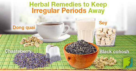 Herbal Remedies to Keep Irregular Periods Away
