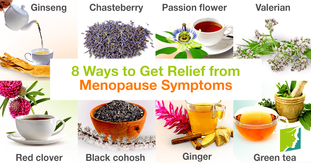 Herbal Teas: 8 Ways to Get Relief from Menopause Symptoms