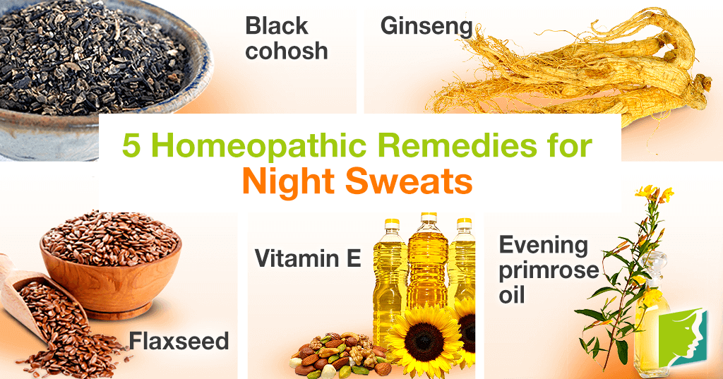 5 Homeopathic Remedies for Night Sweats