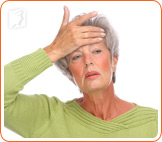 Hot flashes are sudden sensations of heat in the upper part of the body.