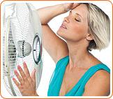 Hot flashes can be extremely disruptive, especially if unexpected.