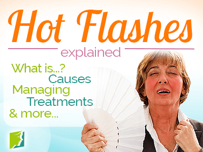 Menopause facial flushing