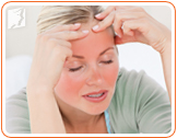 Decrease in estrogen levels it's what causes hot flashes