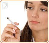 Smoking triggers hot flashes.