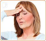 Hot flashes are the abrupt sensation of heat in the upper body.