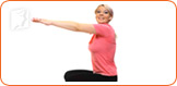 By exercising regularly, you can help fight hot flashes.