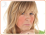 Hormonal changes can produce uncomfortable symptoms such as hot flashes.