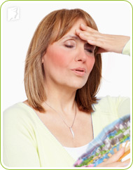 Hot flashes: a sudden feeling of warmth spreading all over the face and upper body