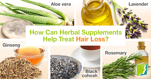 How Can Herbal Supplements Help Treat Hair Loss?