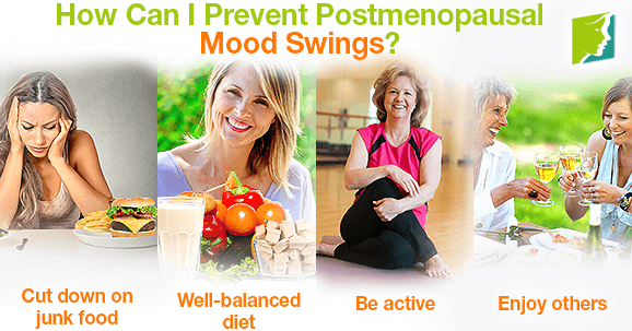 How Can I Prevent Postmenopausal Mood Swings?