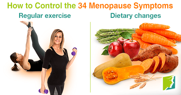 How to Control the 34 Menopause Symptoms