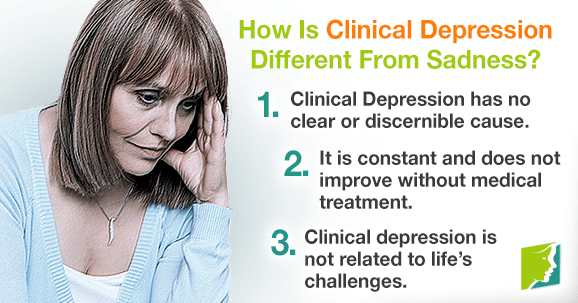 How Is Clinical Depression Different From Sadness?