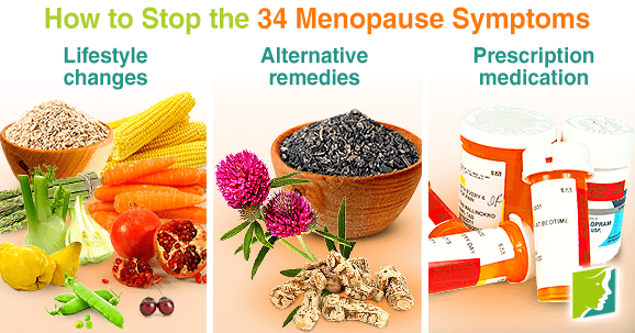 How to Stop the 34 Menopause Symptoms