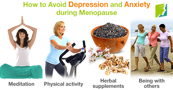How to Avoid Depression and Anxiety during Menopause